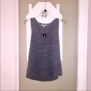 3/$29 Express One Eleven Marled Gray Tank XS NWT